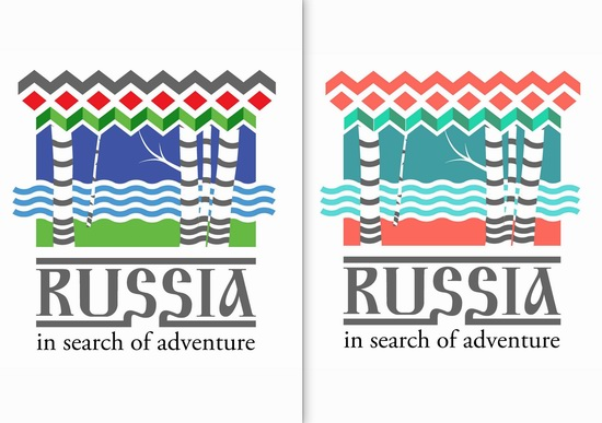 Creating a tourism brand of Russia, logo 23