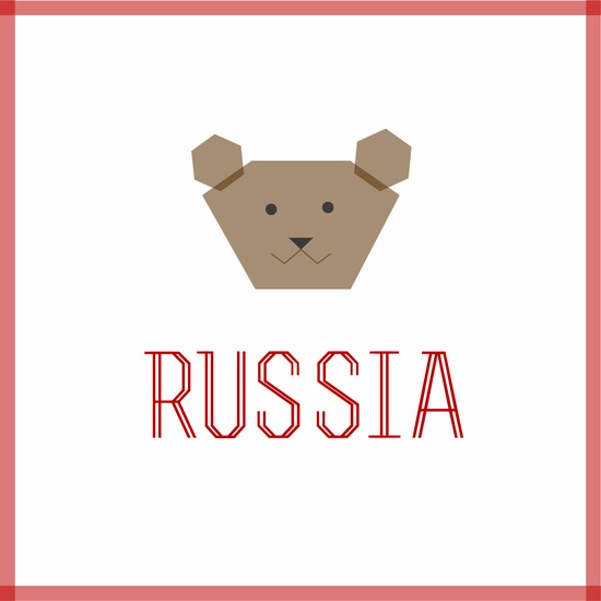 Creating a tourism brand of Russia, logo 5