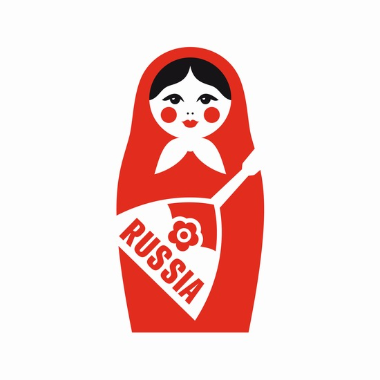 Creating a tourism brand of Russia, logo 8