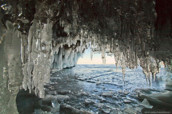 Frozen Lake Baikal, Russia, photo 1