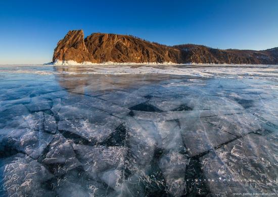 Frozen Lake Baikal, Russia, photo 10