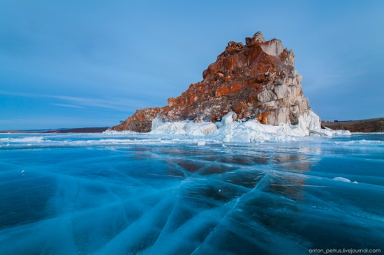 Frozen Lake Baikal, Russia, photo 11