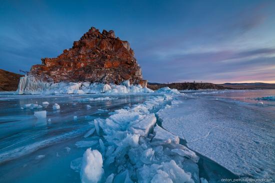 Frozen Lake Baikal, Russia, photo 12