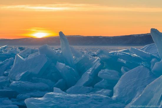 Frozen Lake Baikal, Russia, photo 13