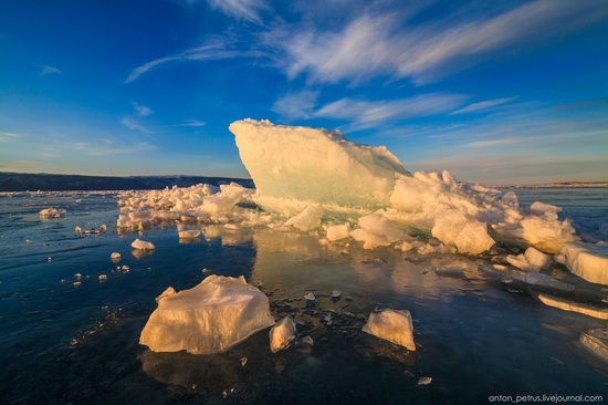 Frozen Lake Baikal, Russia, photo 15