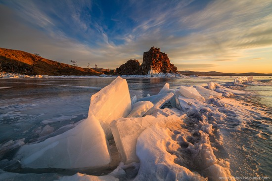 Frozen Lake Baikal, Russia, photo 16