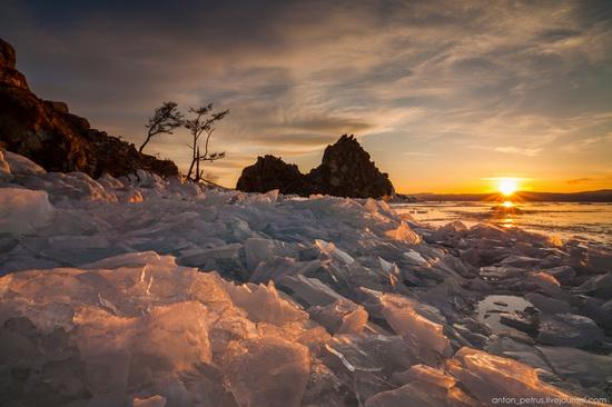 Frozen Lake Baikal, Russia, photo 17