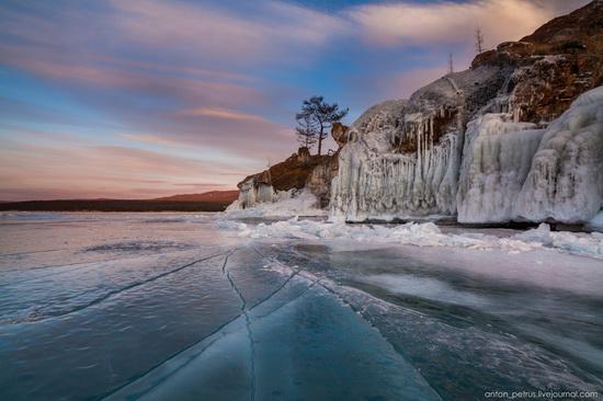 Frozen Lake Baikal, Russia, photo 18
