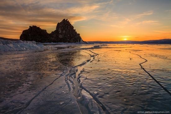 Frozen Lake Baikal, Russia, photo 19