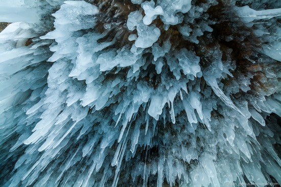 Frozen Lake Baikal, Russia, photo 2