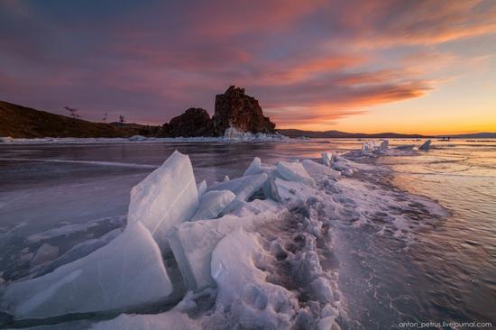 Frozen Lake Baikal, Russia, photo 20