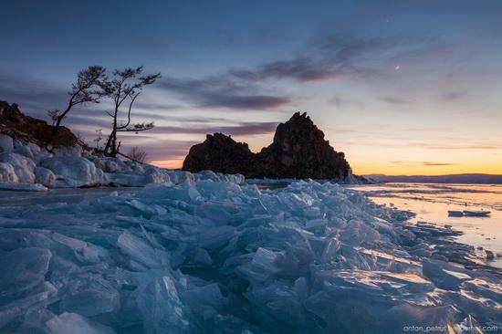 Frozen Lake Baikal, Russia, photo 21