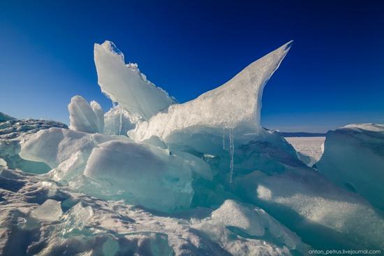 Frozen Lake Baikal, Russia, photo 3