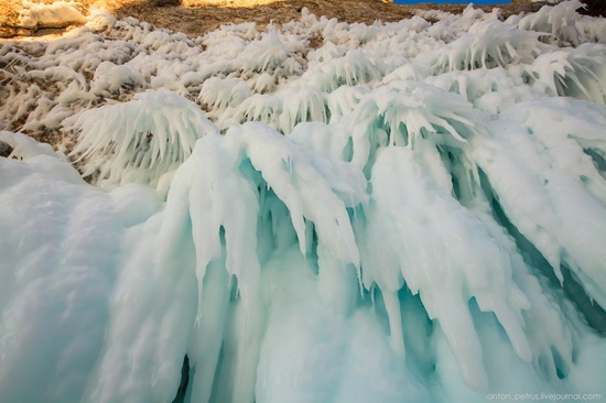 Frozen Lake Baikal, Russia, photo 6