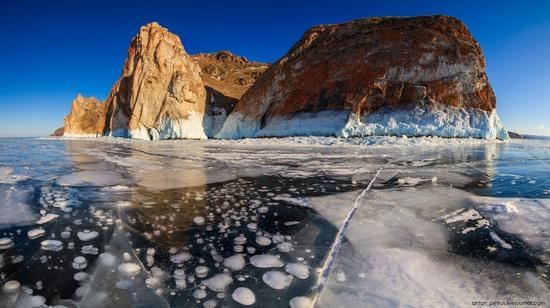 Frozen Lake Baikal, Russia, photo 8