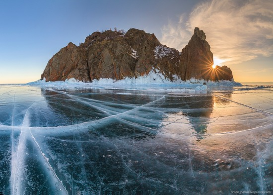 Frozen Lake Baikal, Russia, photo 9