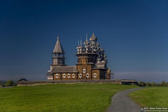 Kizhi churchyard, Lake Onega, Karelia, Russia, photo 1