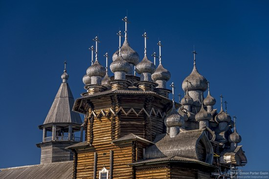 Kizhi churchyard, Lake Onega, Karelia, Russia, photo 2