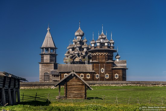 Kizhi churchyard, Lake Onega, Karelia, Russia, photo 6