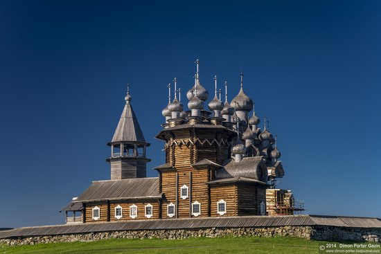 Kizhi churchyard, Lake Onega, Karelia, Russia, photo 7