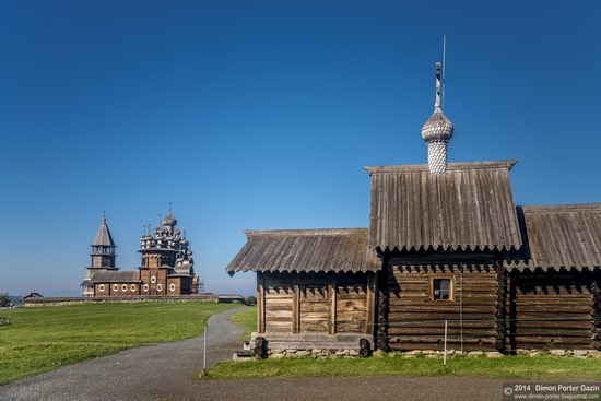 Kizhi churchyard, Lake Onega, Karelia, Russia, photo 8