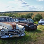 "Open-air museum ""Auto – USSR"" in Chernousovo"