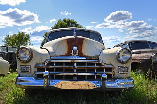 Open-air museum of Soviet cars in Chernousovo, Russia, photo 11