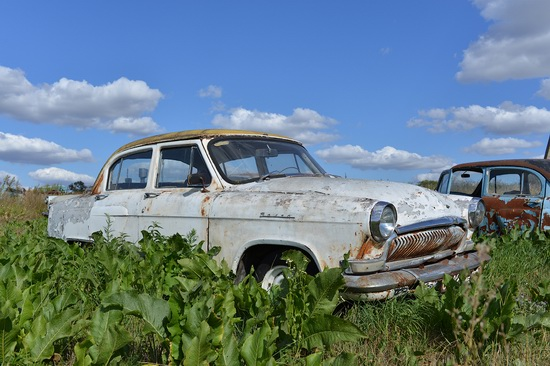Open-air museum of Soviet cars in Chernousovo, Russia, photo 13