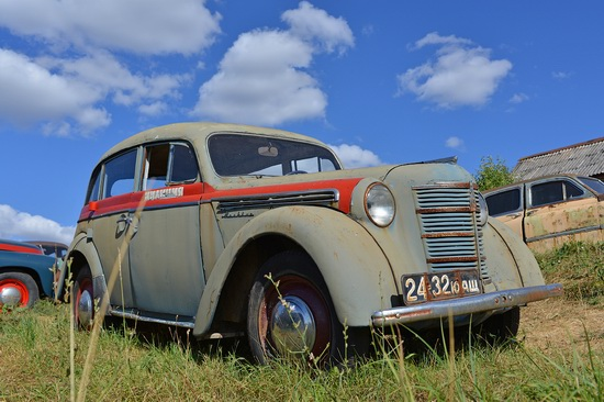 Open-air museum of Soviet cars in Chernousovo, Russia, photo 17