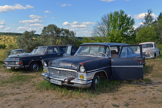 Open-air museum of Soviet cars in Chernousovo, Russia, photo 19
