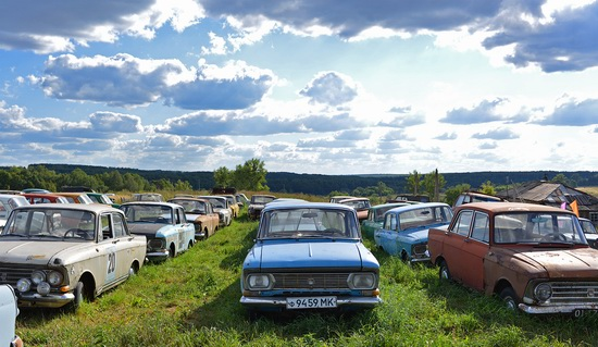 Open-air museum of Soviet cars in Chernousovo, Russia, photo 23