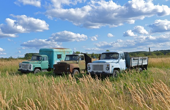 Open-air museum of Soviet cars in Chernousovo, Russia, photo 24