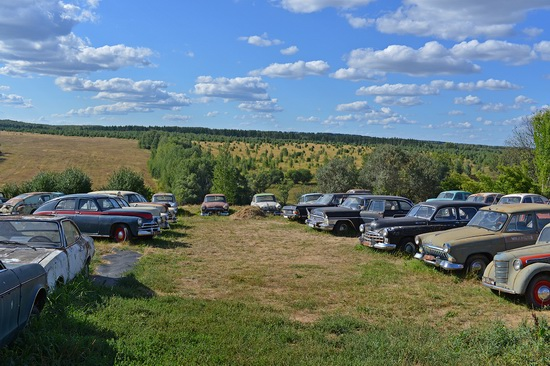 Open-air museum of Soviet cars in Chernousovo, Russia, photo 3