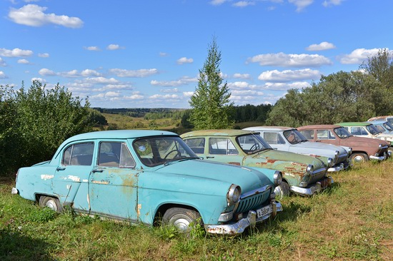 Open-air museum of Soviet cars in Chernousovo, Russia, photo 4