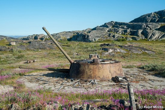 Abandoned coastal battery, Kola Peninsula, Russia, photo 23