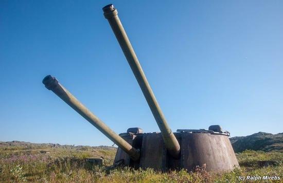 Abandoned coastal battery, Kola Peninsula, Russia, photo 24