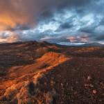Alien landscapes of Tolbachik volcanic plateau