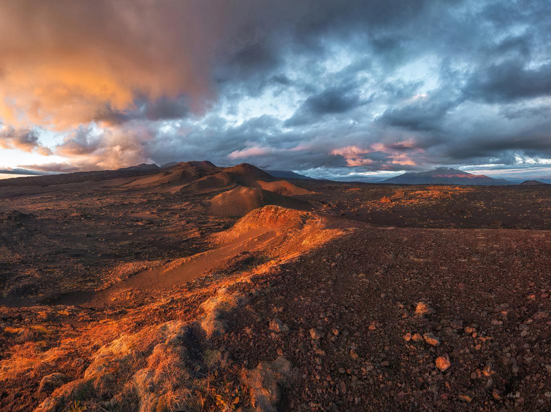 Alien landscapes of Tolbachik volcanic plateau · Russia ...