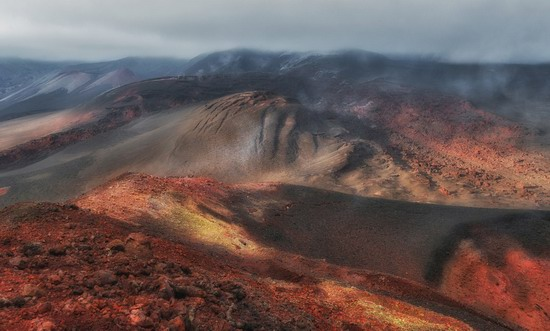 Alien landscapes of Tolbachik, Kamchatka, Russia, photo 14