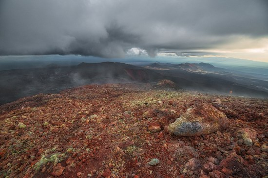 Alien landscapes of Tolbachik, Kamchatka, Russia, photo 16
