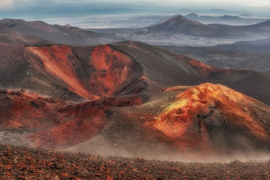 Alien landscapes of Tolbachik, Kamchatka, Russia, photo 19