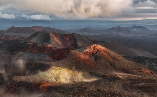 Alien landscapes of Tolbachik, Kamchatka, Russia, photo 20