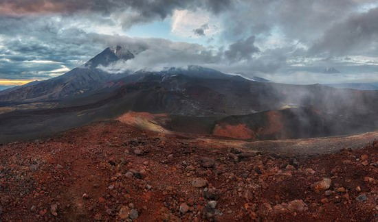 Alien landscapes of Tolbachik, Kamchatka, Russia, photo 22