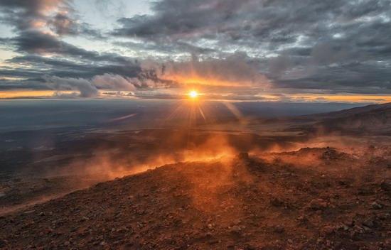 Alien landscapes of Tolbachik, Kamchatka, Russia, photo 23