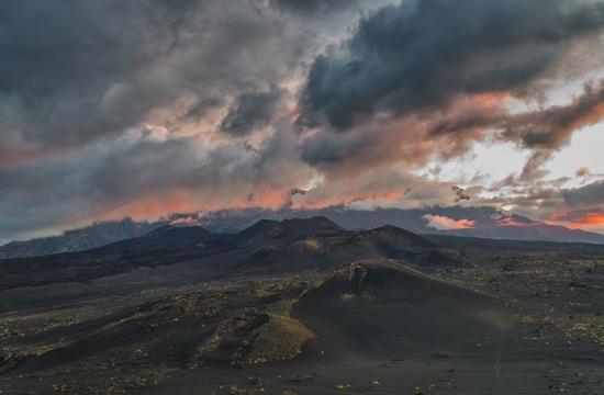 Alien landscapes of Tolbachik, Kamchatka, Russia, photo 5
