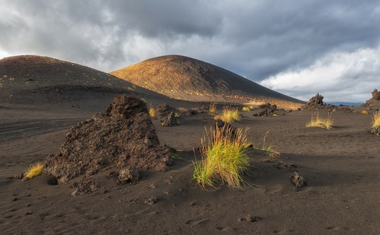 Alien landscapes of Tolbachik, Kamchatka, Russia, photo 6