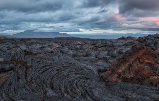 Alien landscapes of Tolbachik, Kamchatka, Russia, photo 7
