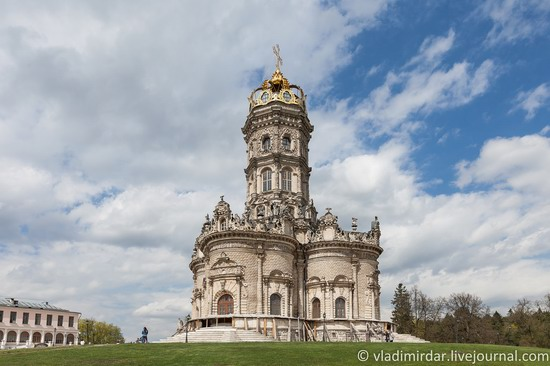 Church in Dubrovitsy, Moscow region, Russia, photo 1