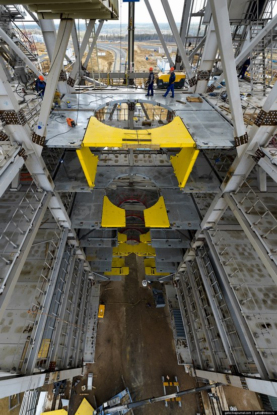 Construction of cosmodrome Vostochny, Russia, photo 11