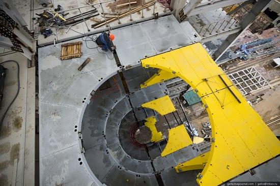 Construction of cosmodrome Vostochny, Russia, photo 13